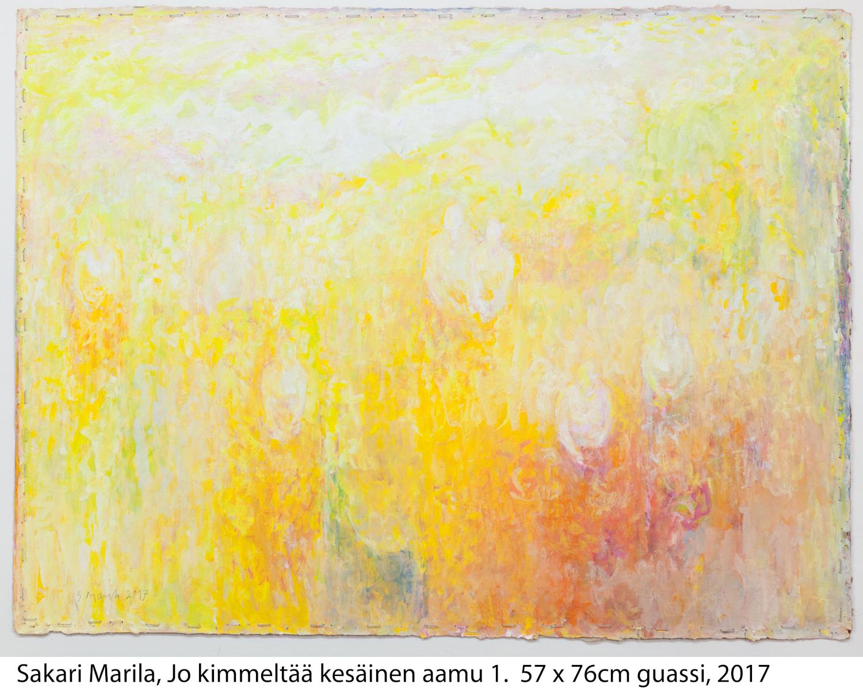 Sakari Marila: Jo kimmeltää kesäinen aamu I