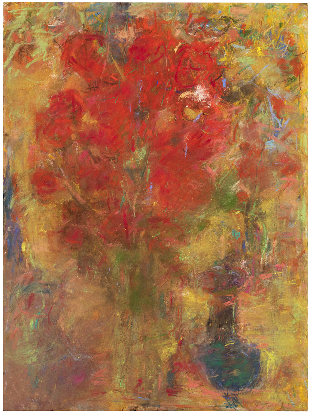 Punainen kukka / Röd blomma
